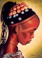 African Portrait by ShamiesArt