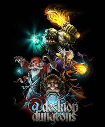 Desktop Dungeons by ShamiesArt
