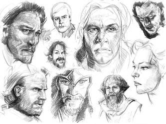 Sketching by ShamiesArt