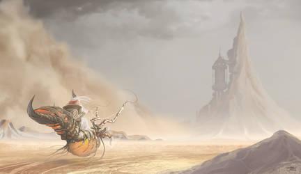 Sand Storm by ShamiesArt