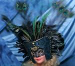 Aztec-Inspired Mask Headdress