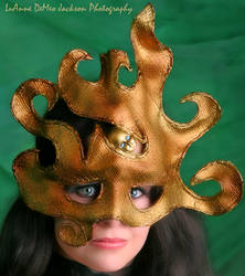 Fire Oracle Mask