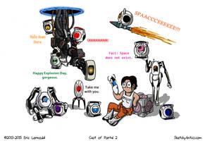 Portal Cast by SketchyAntics
