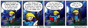 A Sketchy October