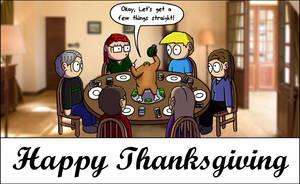 Thanksgiving 2015 by SketchyAntics