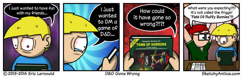 DD Gone Wrong by SketchyAntics