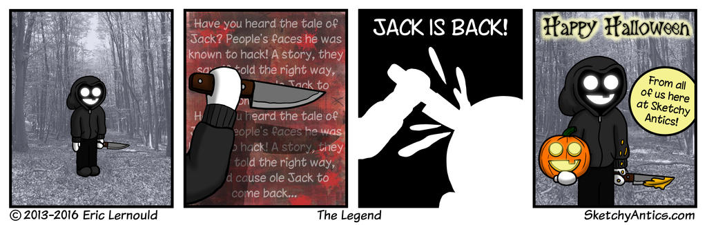 The Legend by SketchyAntics