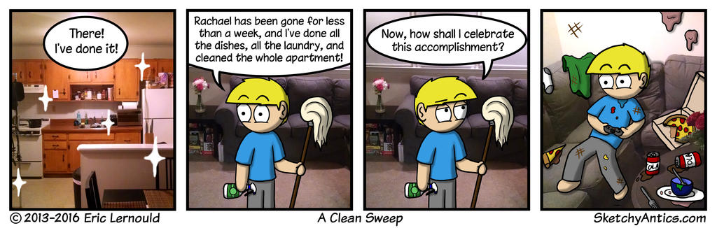 A Clean Sweep by SketchyAntics