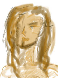 Autoportrait in Shades of Brown