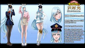 [BNHA OC] Hikari Sawamura - Bio