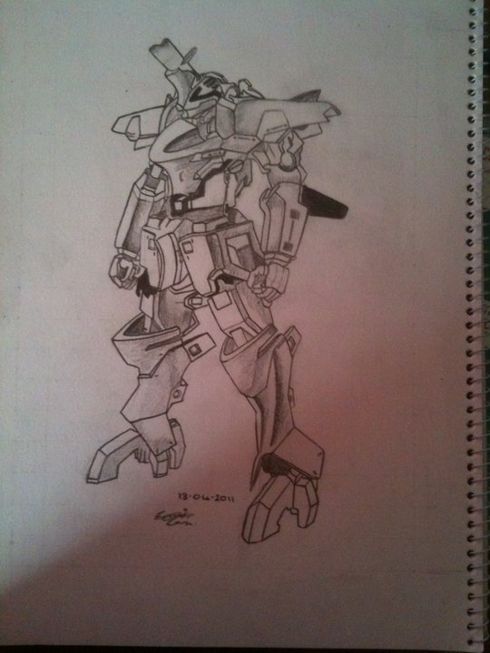 Mecha Drawing by UNSJN