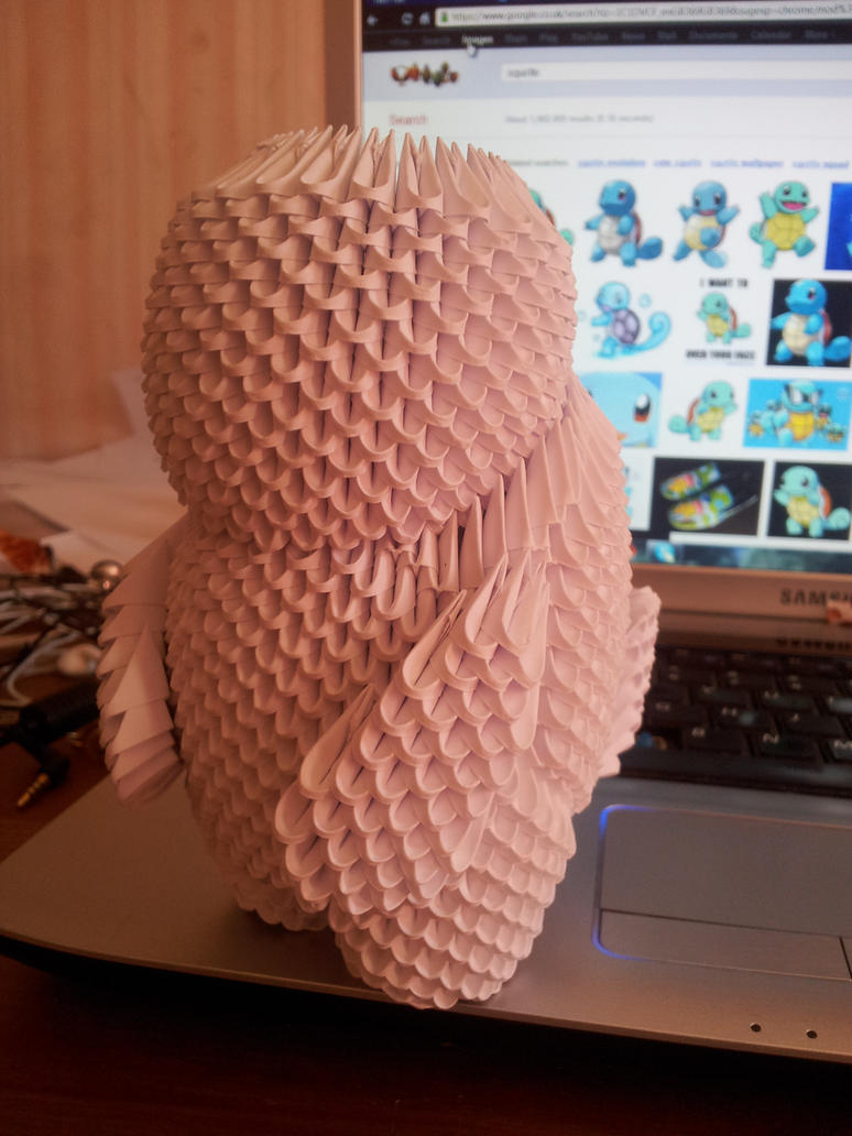 3d origami squirtle prototype 2 by unsjn on deviantart 3d origami squirtle prototype 2 by unsjn jeuxipadfo Images