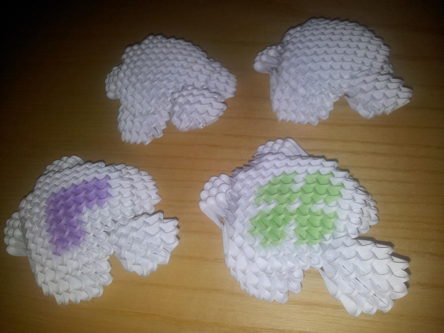 3D Origami Turtle by UNSJN