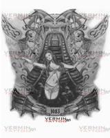My Leg Tattoo Design by VerminGTi