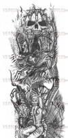 Tattoo Design Right Arm by VerminGTi