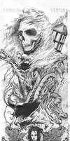 Tattoo Design Left Arm by VerminGTi