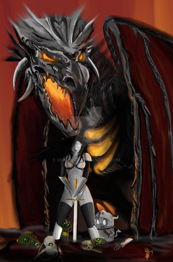 Fantasy's are born with steel and blood by VerminGTi
