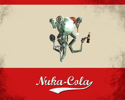 Nuka-Cola Christmas 5:4, 16:9 by Eightbyte