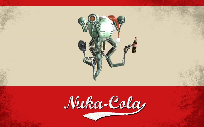 This Holiday Season Enjoy Nuka Cola Right On Your Desktop Wallpaper