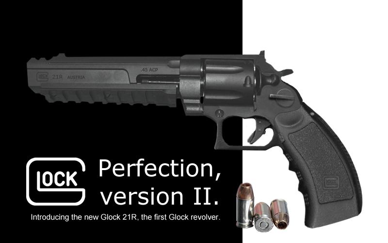 Glock 21R Revolver by Eightbyte