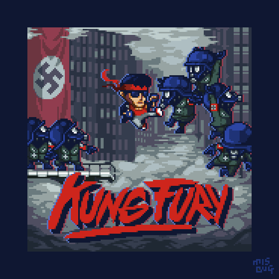 Kung Fury demake by Mis-BUG