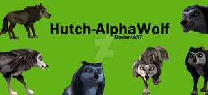 Hutch-AlphaWolf (My Logo)