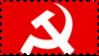 Hammer and Sickle stamp by Tonnakin
