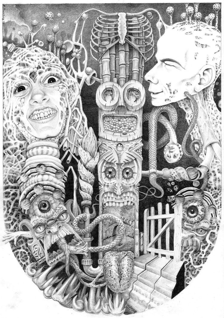 Abhorrent Drug Ninny Girl by BlueBurgStudios