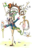 Sacred Musical Feminine by BlueBurgStudios