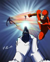 Flash Vs Captain Cold