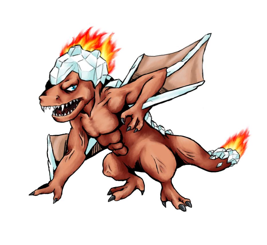 Fireicedramon by saifors