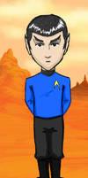Mr. Spock by kelly42fox