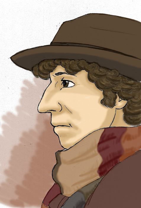The Doctor - Tom Baker by kelly42fox