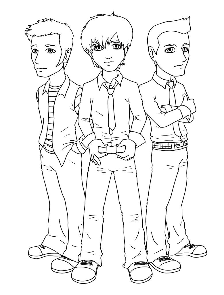 Green day band coloring pages coloring pages for Band coloring pages