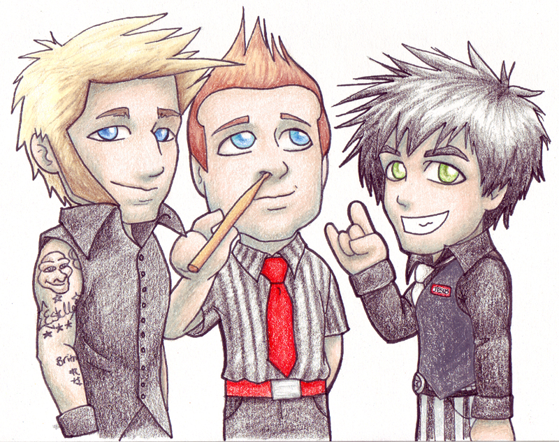 'Lil Green Day by kelly42fox