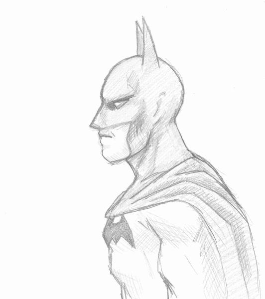 Batty Sketch 1 by kelly42fox