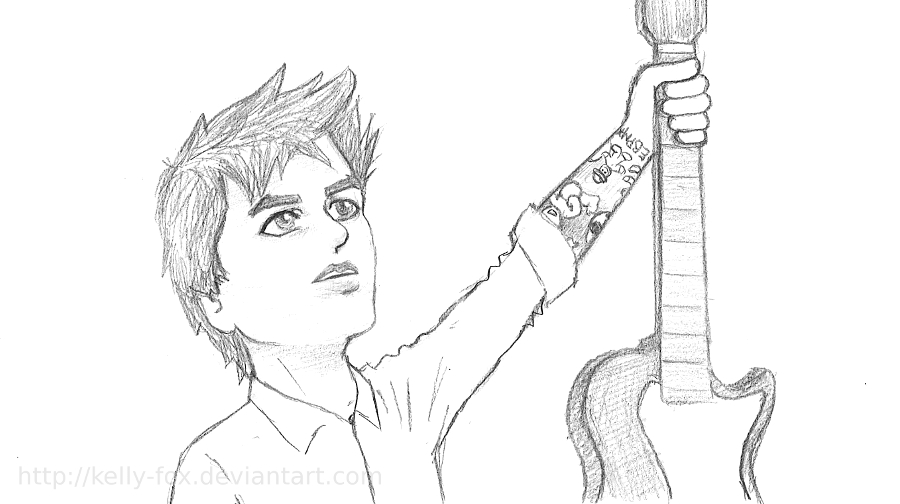 Billie Joe - sketchy like 13 by kelly42fox