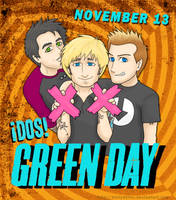Green Day DOS by kelly42fox