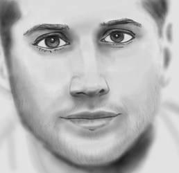 Jensen Ackles - sketchy like 2