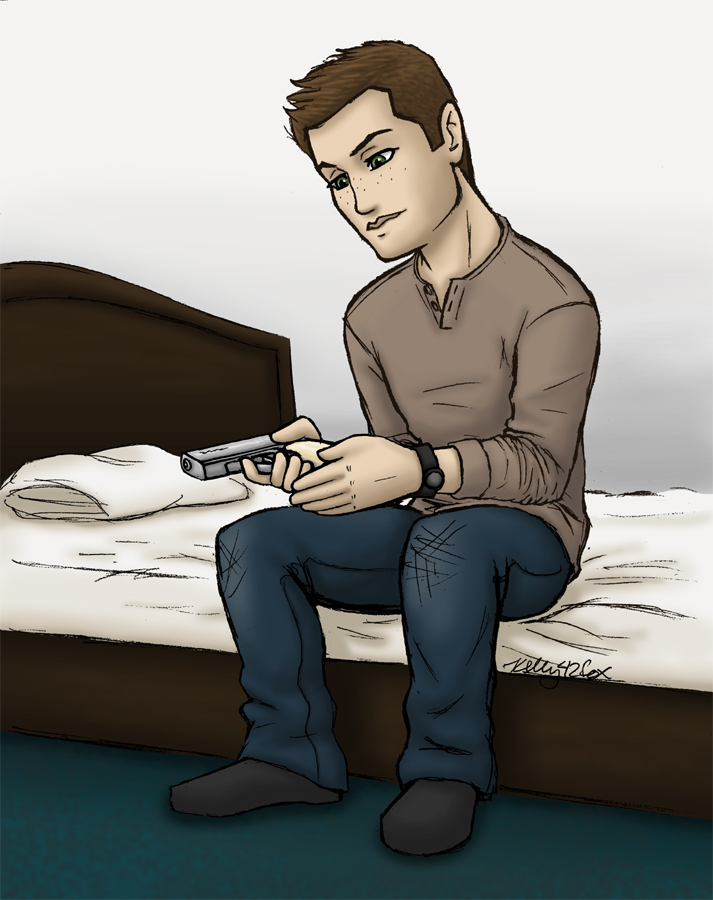 Supernatural - Dean Re-loaded by kelly42fox