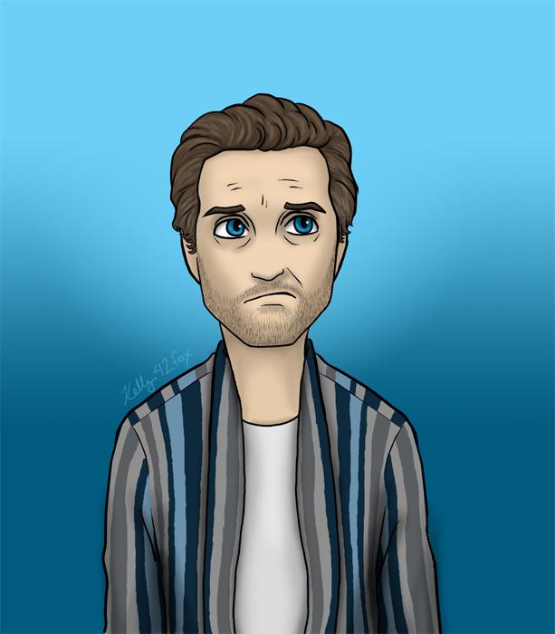 Supernatural - Chuck Shurley by kelly42fox