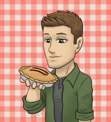 Supernatural - Dean and Pie