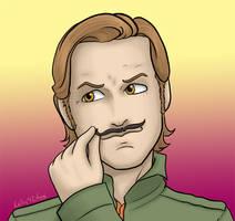 Supernatural - Gabe's Mustache
