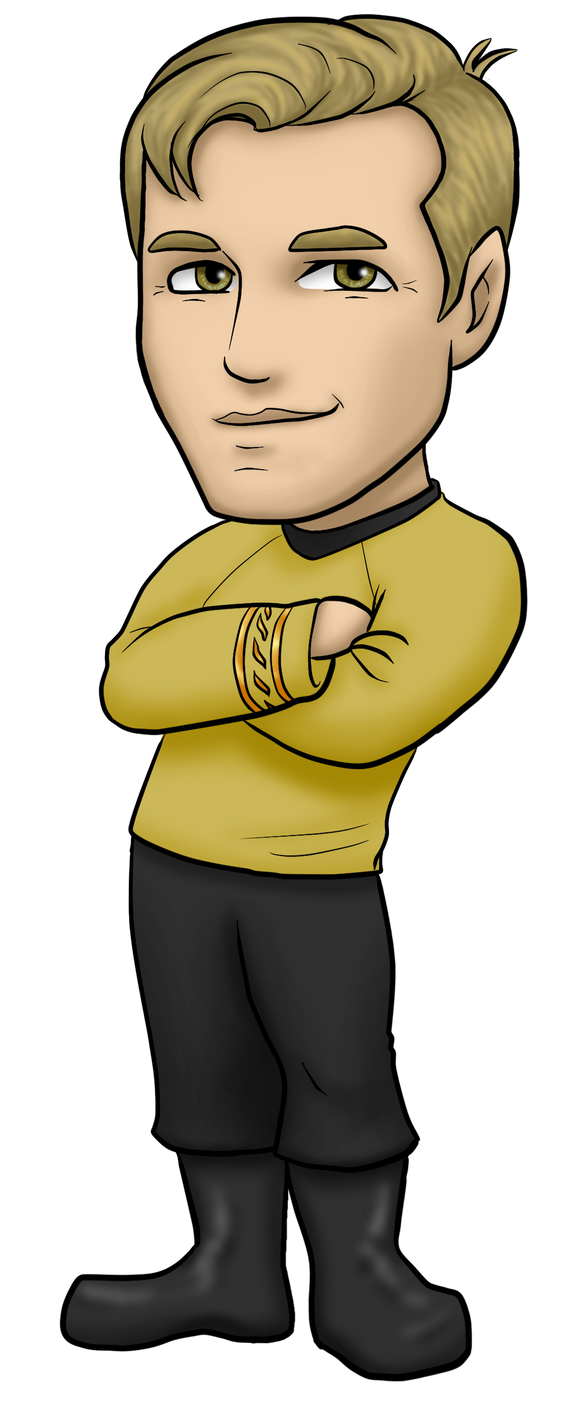 James T Kirk by kelly42fox