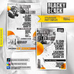 Stylish Black Party Template
