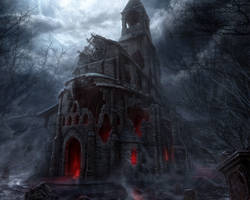 THE ORIGINAL HOUSE OF EVIL -FROM D3- by RXHMR