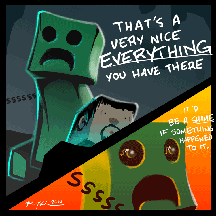 Creepers by TurnThePhage