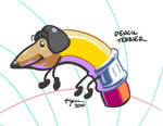 Pencil Terrier by TurnThePhage
