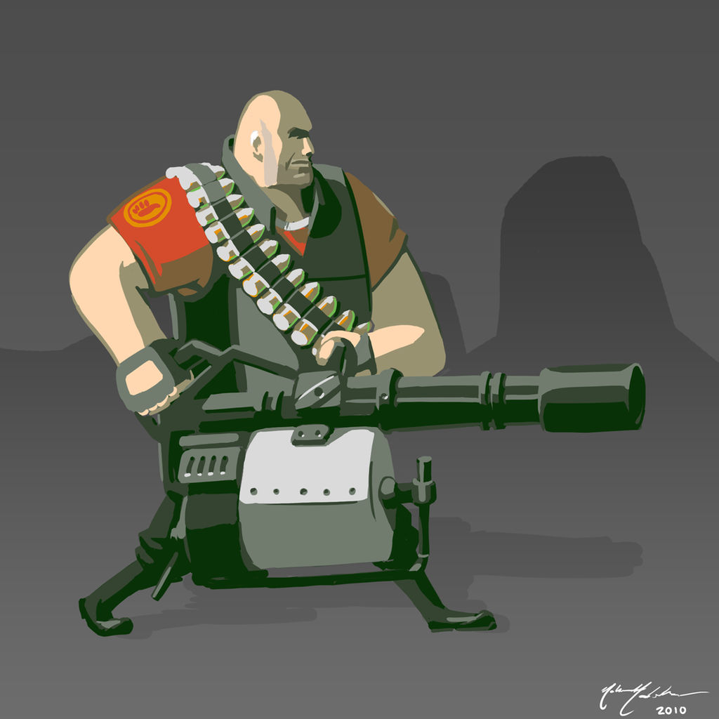 TF2: The Heavy by TurnThePhage