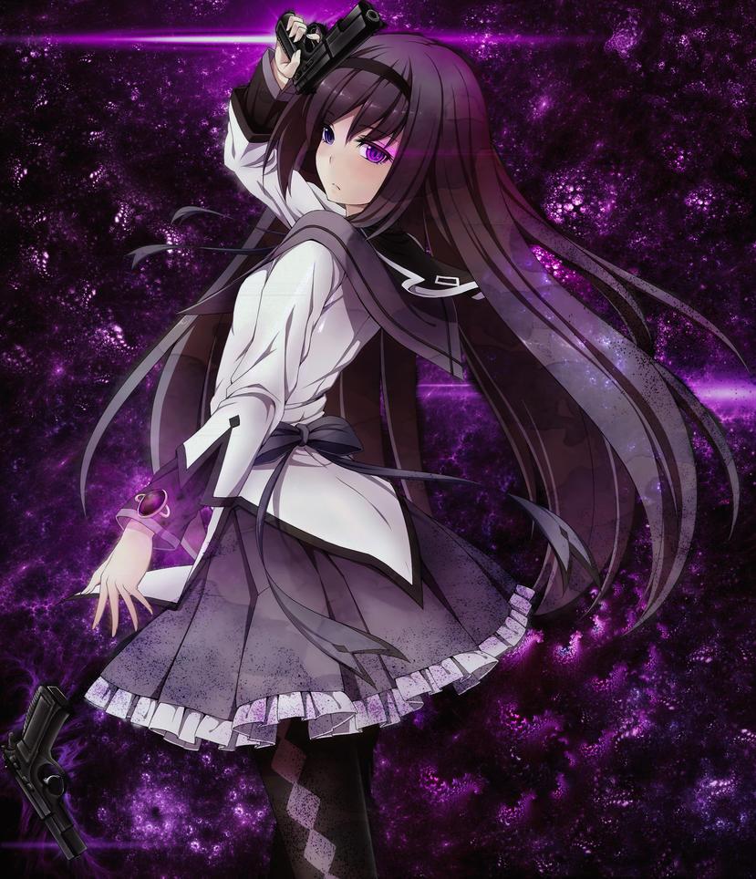 Akemi Homura by Pact-0f-Brotherhood